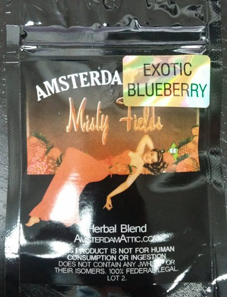 Amsterdam Attic Misty Fields Blueberry (4g)