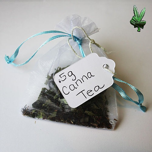 20 Grams Cannabis Peppermint Tea Bags