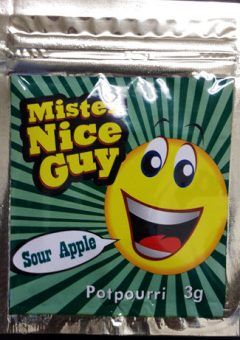 Mister Nice Guy Sour Apple (3g)
