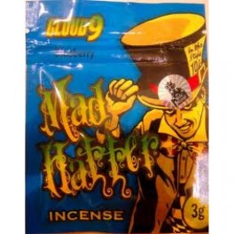 MAD HATTER HERBAL INCENSE 3G