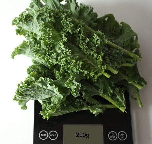 200 grams of Kale