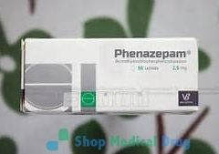 Phenazepam 2.5mg pills